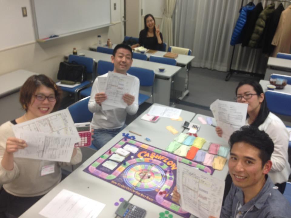 キャッシュフローゲーム 大阪 2018年1月7日