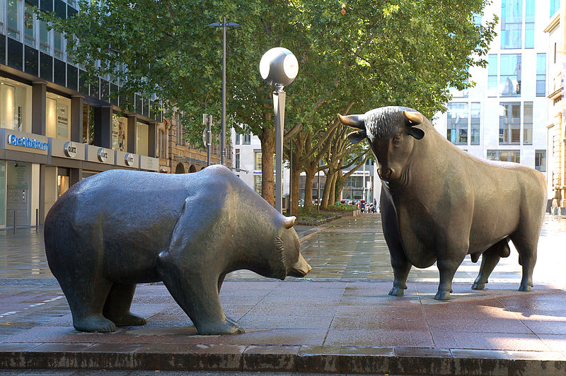 雄牛(ブル)と熊(ベア)