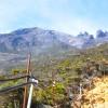 フィリピンの山道