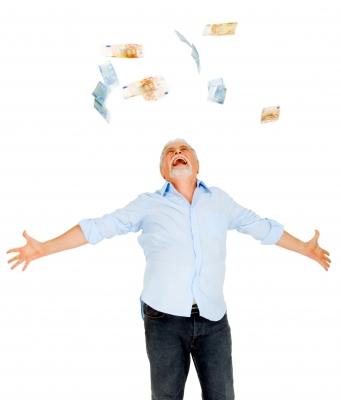 お金のシャワー