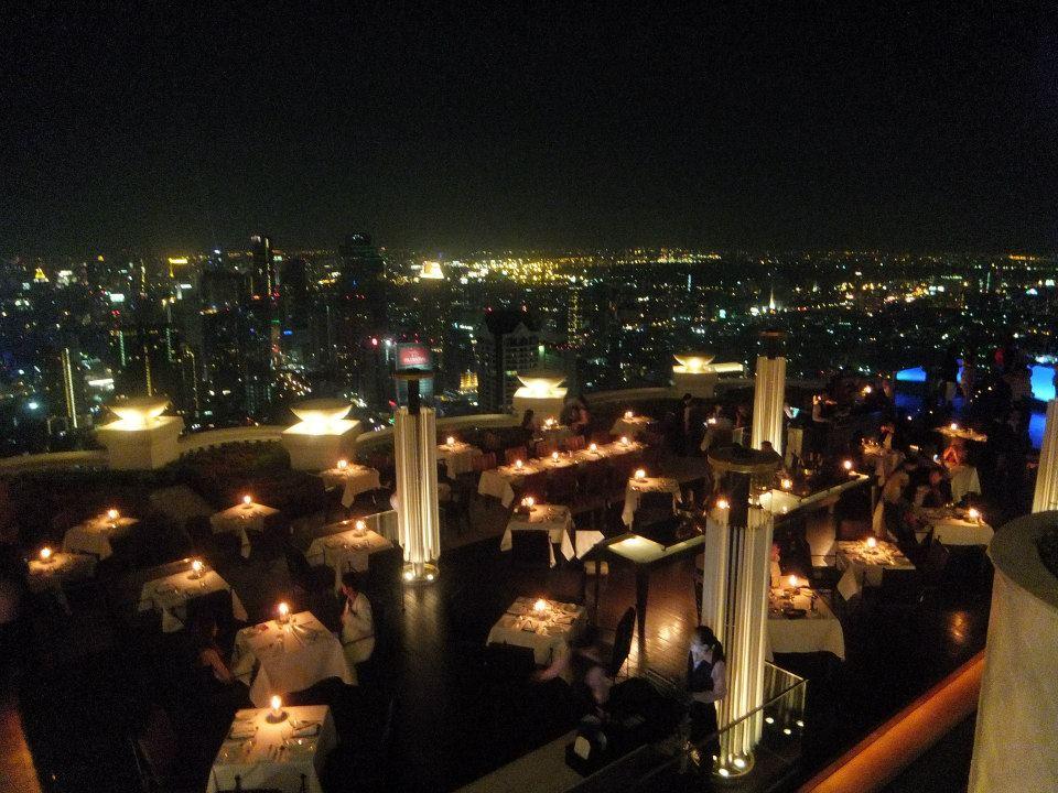 夜景のきれいなレストラン