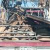 ゴミ収集トラック