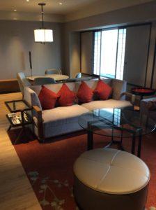 ヒルトン大阪の部屋